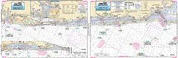 Captain Segull Chart No SKG324 Siesta Key to Gasparilla Pass, FL