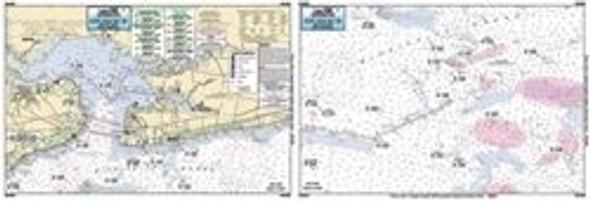 Captain Segull Chart No SLM308 St. Louis Bay, MS