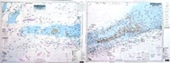 Captain Segull Chart No SRD37 Sombrero Key to Dry Tortugas, FL