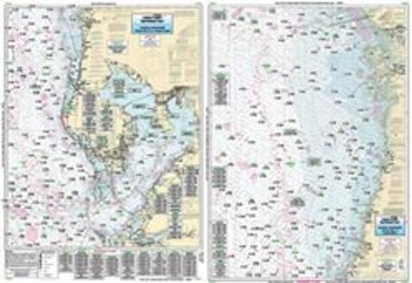 Captain Segull Chart No TAM40 Tampa Bay to Crystal River, FL