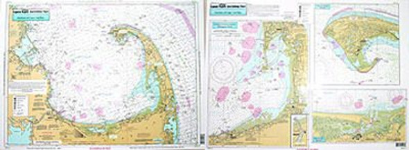 Captain Segull Chart No WB111 Harbors of Cape Cod Bay, MA