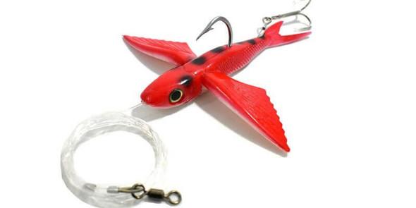 California Yummee Flying Fish - Red Ladybug Fishing Kite Lure