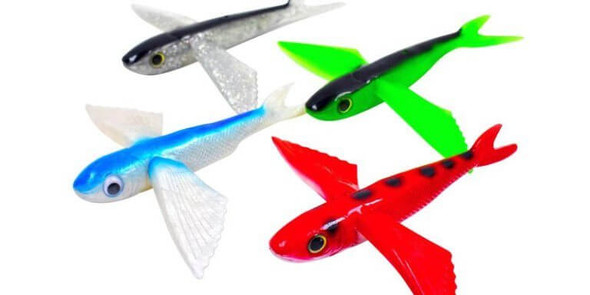 California Yummee Flying Fish Tuna Lures - Unrigged