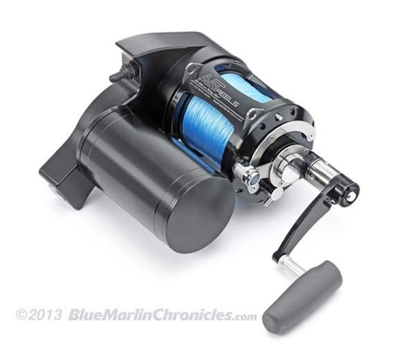 Dolphin Avet Pro-EX 80 Wide Electric Reel Combo