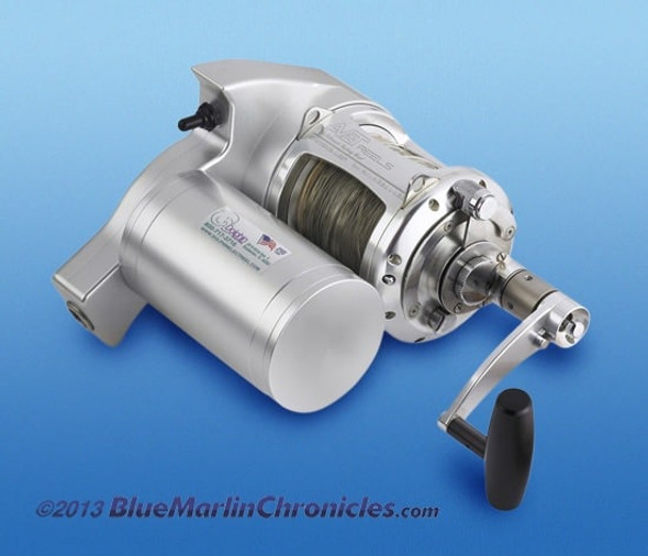 Dolphin Avet Pro-EX 50 Wide Electric Reel Combo