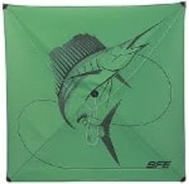SFE Green Fishing Kite