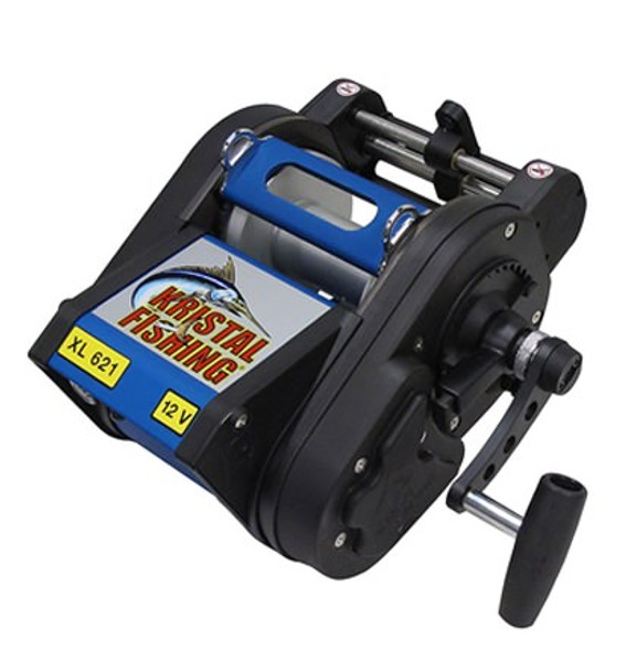 Kristal XL 621 M LW 24 Volt Electric Manual Level Wind Reel