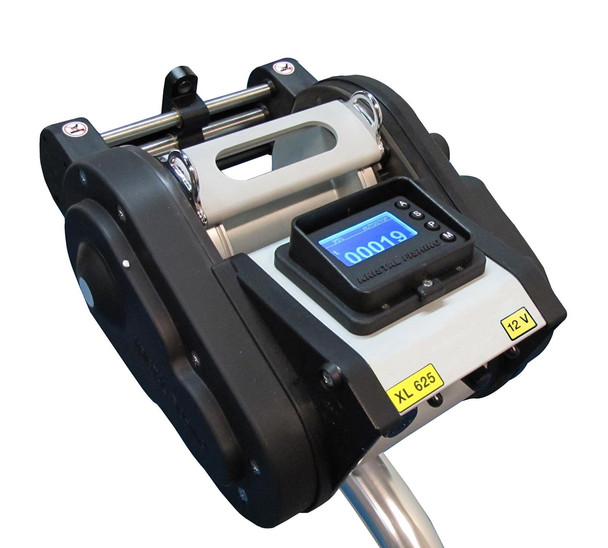 Kristal 625 D LW Programmable Electric Variable Speed Reel with Level Wind Reel