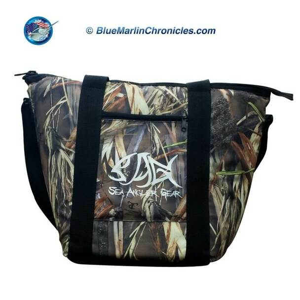 Sea Angler Insulated Camo Soft Cooler Bag