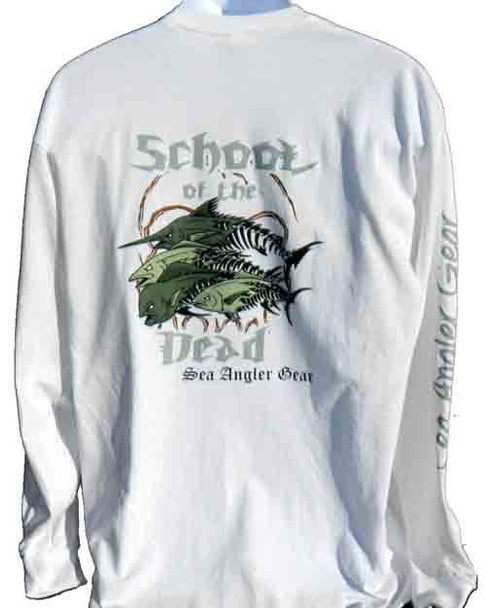 School of the Dead Fishing T Shirt