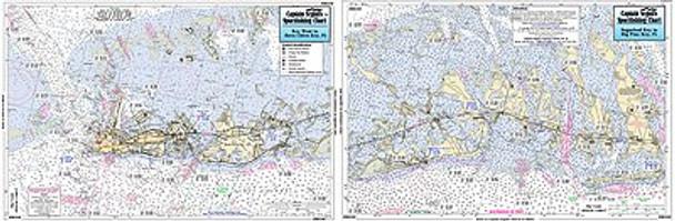 Captain Segull Chart No BK349 Big Pine Key to Key West FL