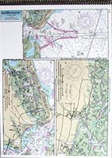 Captain Segull Chart No CB127 ICW: Casino Creek to Beaufort River, SC