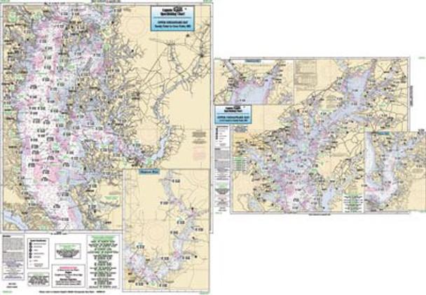 Captain Segull Chart No CBU120 Upper Chesapeake Bay