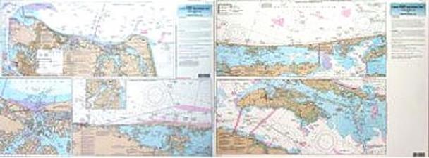 Captain Segull Chart No CHO123 Inshore Norfolk, VA to Oregon Inlet, NC