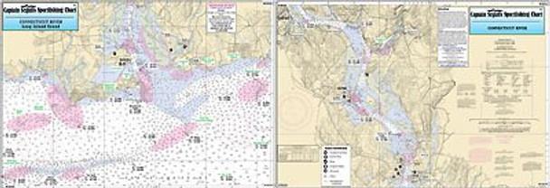 Captain Segull Chart No CR335 Connecticut River, CT