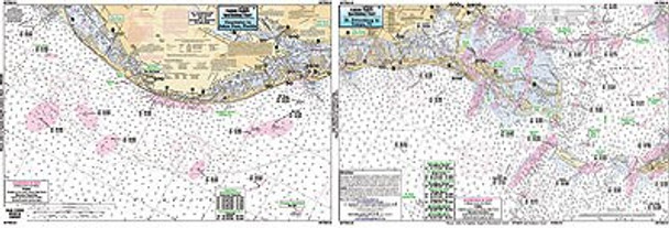 Captain Segull Chart No CTB318 Clearwater to St. Petersburg, FL