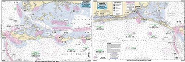 Captain Segull Chart No GNC325 Pine Island Sound, Boca Grand Inlet, FL