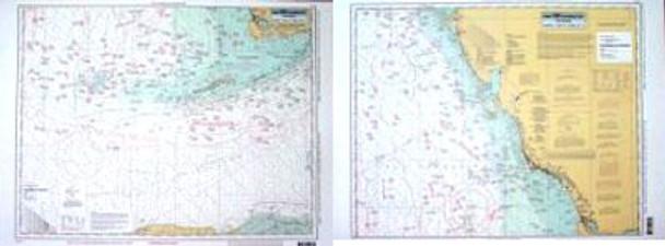 Captain Segull Chart No HTK42 Havana to Tampa, FL