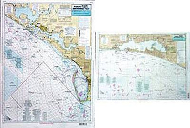 Captain Segull Chart No JAC46 St. Joseph, St Andrew and Choctawhatchee Bays