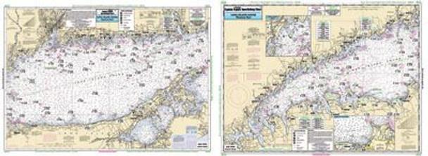 Captain Segull Chart No LI15 Long Island Sound