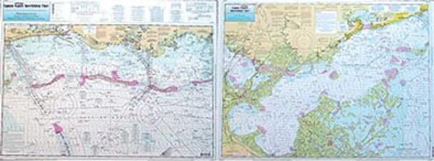 Captain Segull Chart No MB48 Miss. Sound to Cat Island/Lake Borgne, MS