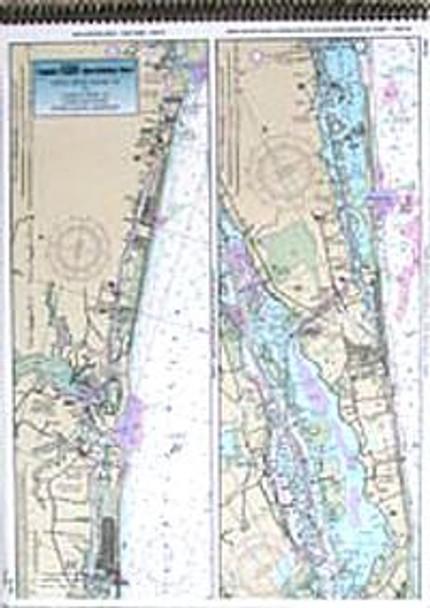 Captain Segull Chart No MC126 ICW: Myrtle Grove Sound to Casino Creek, SC
