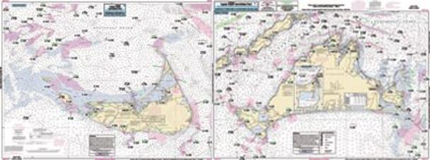 Captain Segull Chart No MVN116 Inshore Marthas Vineyard - Nantucket