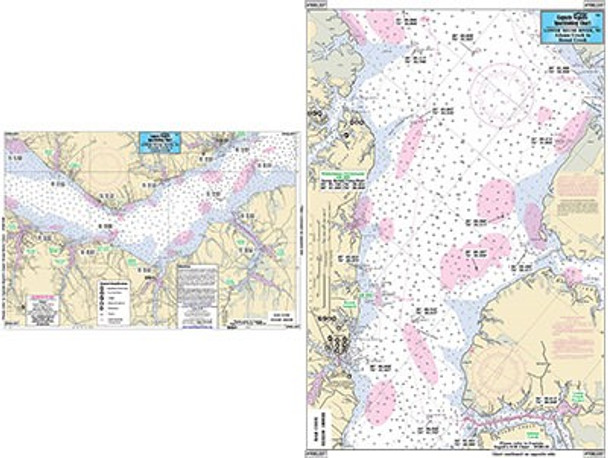 Captain Segull Chart No NRL337 Lower Neuse River, NC