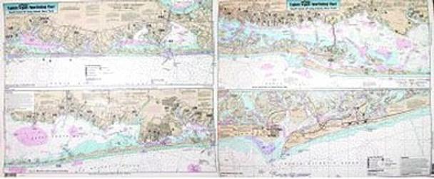Captain Segull Chart No SLI107 Inshore South Coast of Long Island, NY
