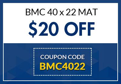 BMC 40 x 22 MAT
