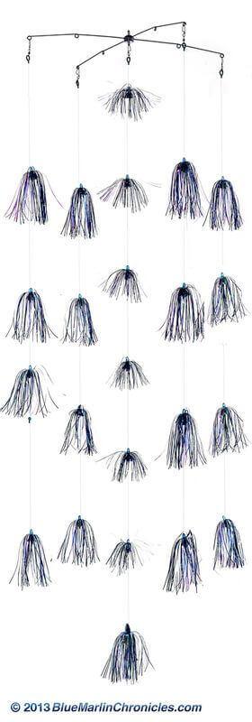 23 Blue & Pearl Skirt Dredge