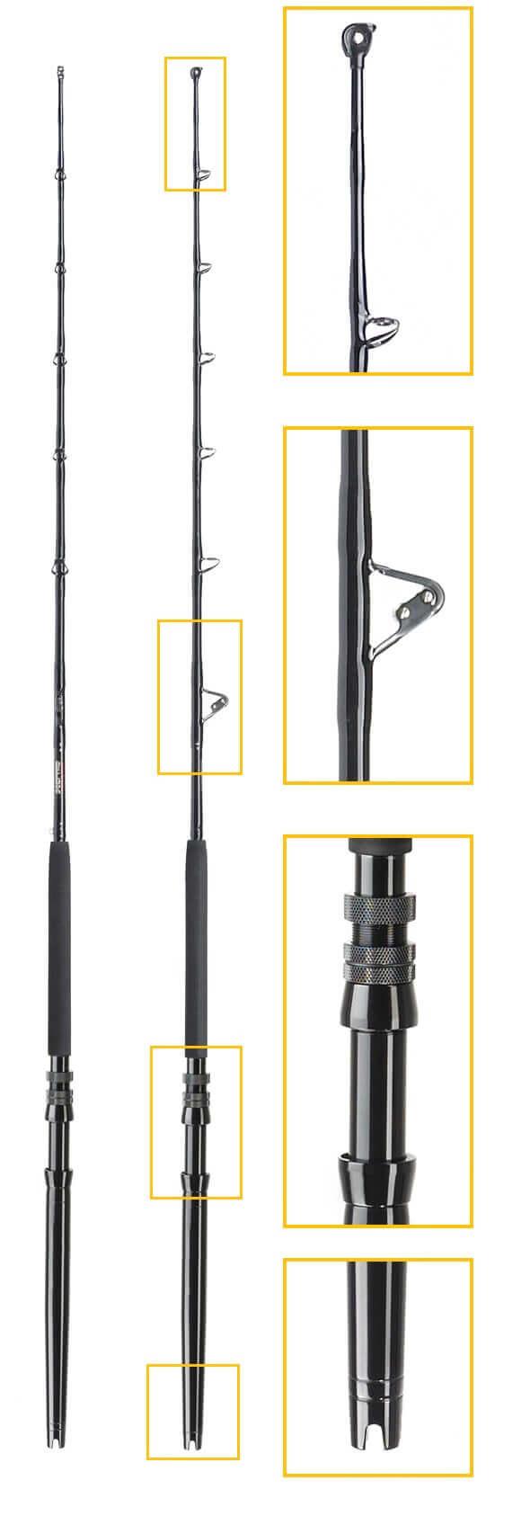 Sceptre 5.5 FT Short Stroker 50 LB Class Standup Rod
