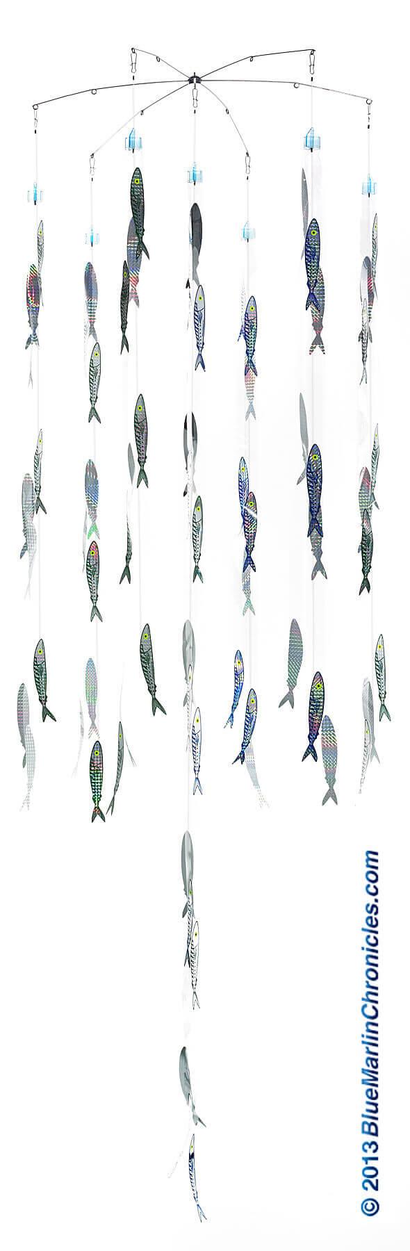 105 Fish Holographic Sardine - Threadfin Ultimate Dredge