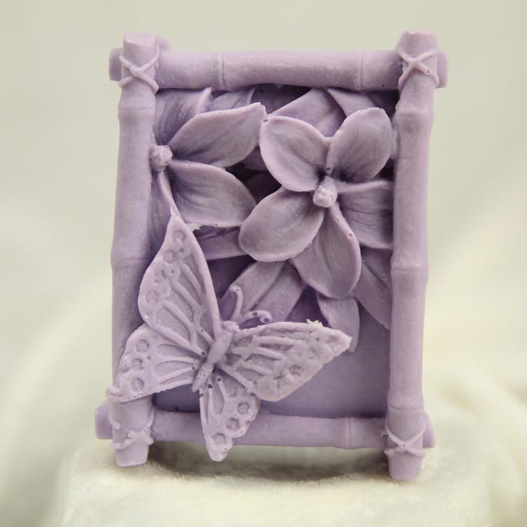 Little Portion Bakery Gift Soap - Butterflies - Vanilla Lavender - Lavender
