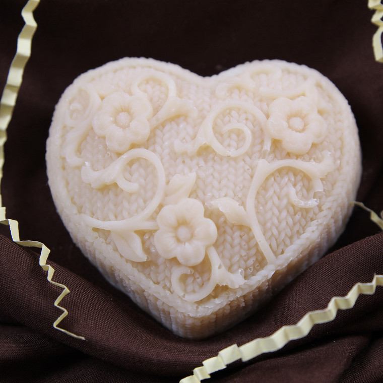 Gift Soap - Heart with Vine