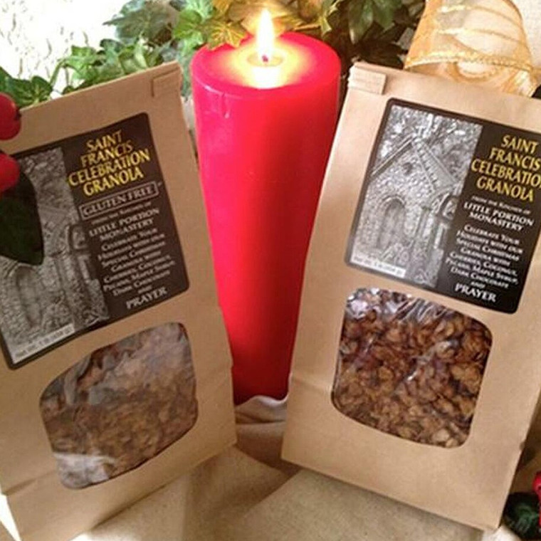 Three Bags of St. Francis Celebration Granola - Save on Shipping!