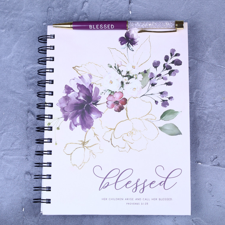 Blessed Journal and Pen set