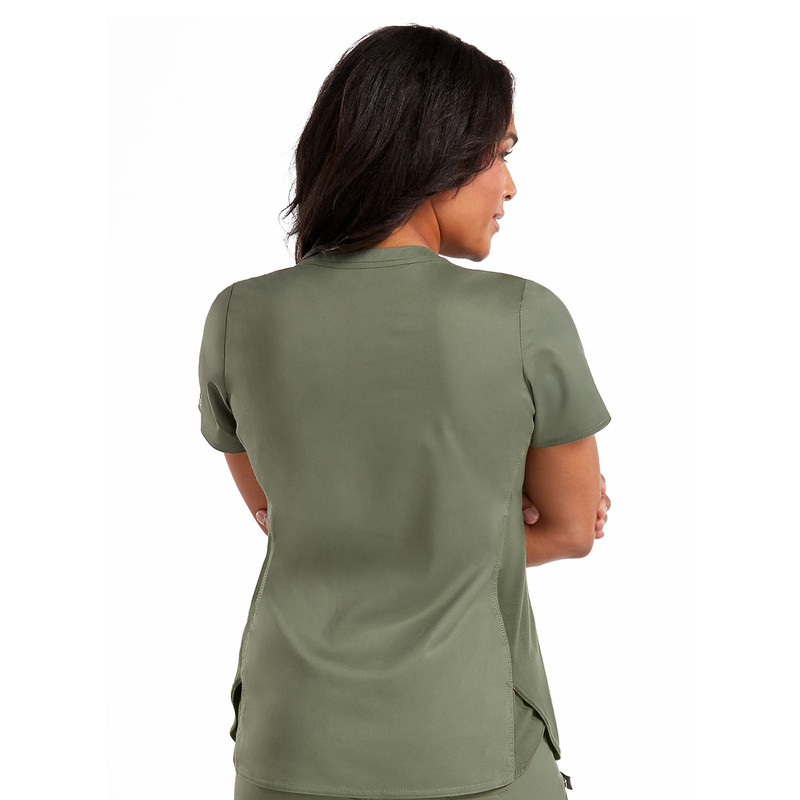 0c5c2db8cb1 ... Scrubs Top; Med Couture TOUCH Women's V-Neck Shirttail Hem Kerry Scrubs  ...