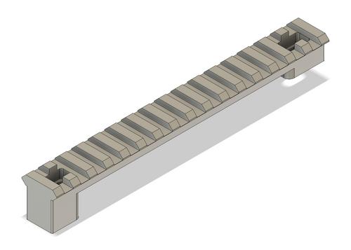 Picatinny Rail for Bushnell Elite Tactical 8-40x60 Spotting Scope