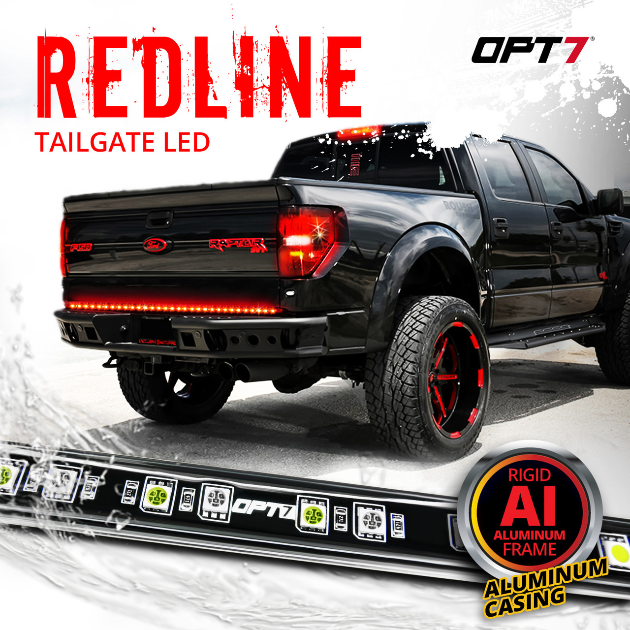 [DIAGRAM_5LK]  Redline LED Tailgate Brake Light Bar with Reverse | Led Light Bar Wiring Diagram For Truck |  | OPT7