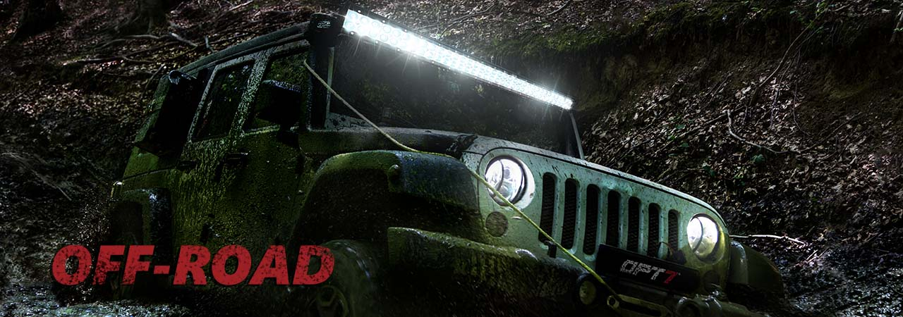 OPT7 Off road led lights