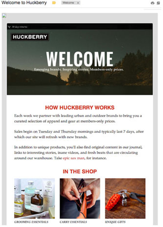 Marketing 101: Mastering the Welcome Email