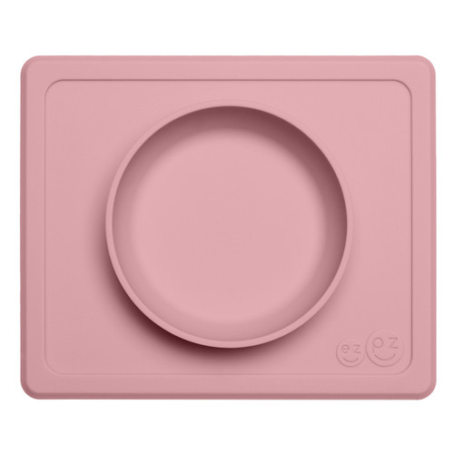 Perfect for a variety of foods, including pasta, soup, oatmeal and cereal. Designed for infants / toddlers 6+ months. Lightly suctions to smooth surface tables and highchairs so no more tipped bowls