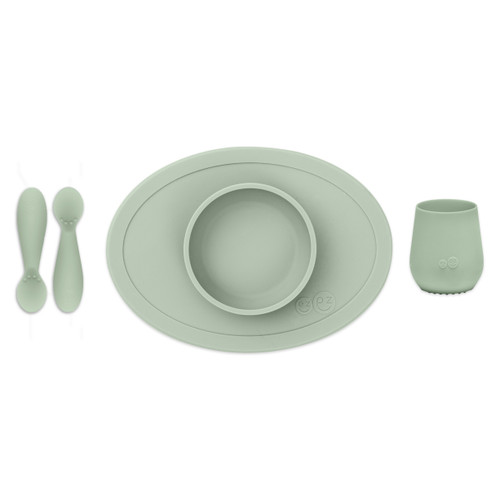 First Foods Tiny Set Sage