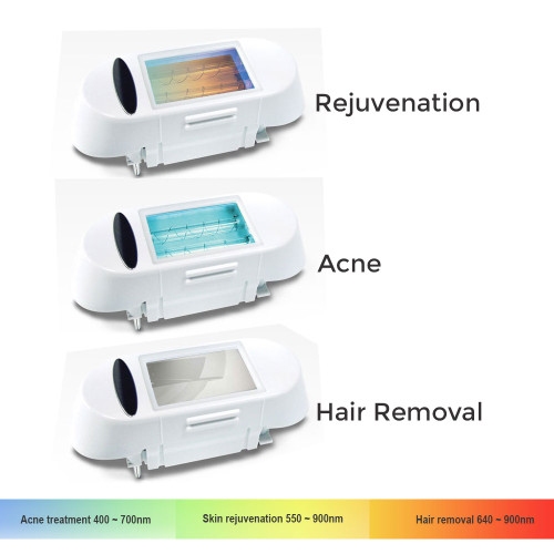 VISS IPL cartridge refills in Acne Treatment, Skin Rejuvenation and Hair Removal. Your choice.