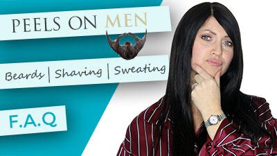 Chemical Peels on Men | Beards | Shaving | Sweating | FAQ