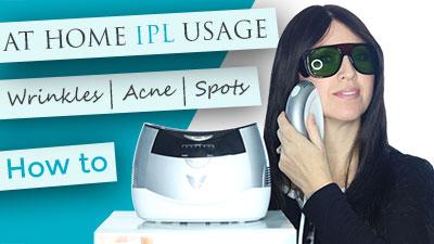 VISS IPL - At-Home ussage | skin rejuvenation | wrinkles | acne | hair removal