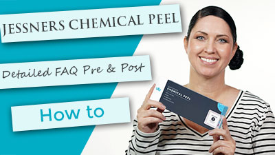 JESSNERS Peel l Application | Detailed FAQ | Aftercare