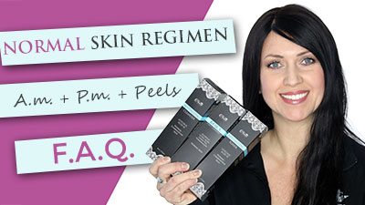 Normal skin care regimen | treatments | peels