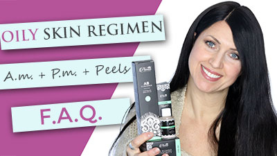 Oily Skin Care Regimen | Acne | Treatments | Peels